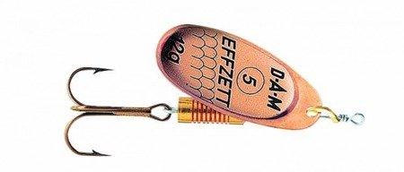 Błystka Obrotówka DAM EFFZETT STANDARD SPINNER Copper 3 / 6g
