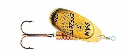 Błystka Obrotówka DAM EFFZETT Standard Spinner Gold 4 / 10g