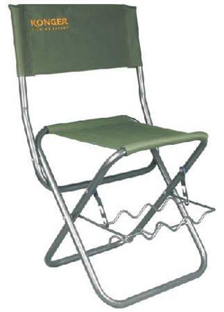 Krzesło z uchwytem na wędki Konger nr 6