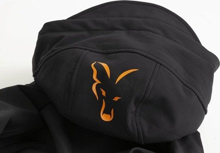 Kurtka SoftShell Fox Collection Orange & Black Shell Hoodie XXL