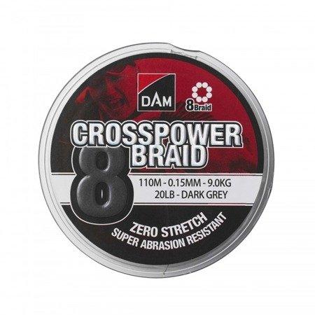 Plecionka DAM CROSSPOWR 8-BRAID 0.20MM/110M