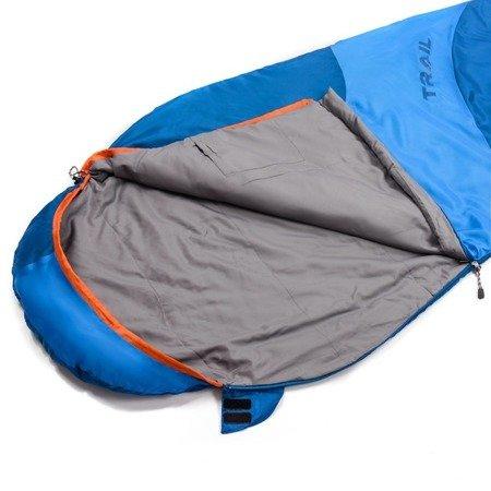 Śpiwór Meteor Trail granatowo niebieski