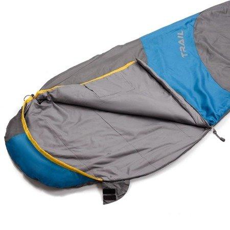 Śpiwór Meteor Trail szaro niebieski