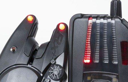 Sygnalizator brań Fox RX+ 3-Rod Presentation Set
