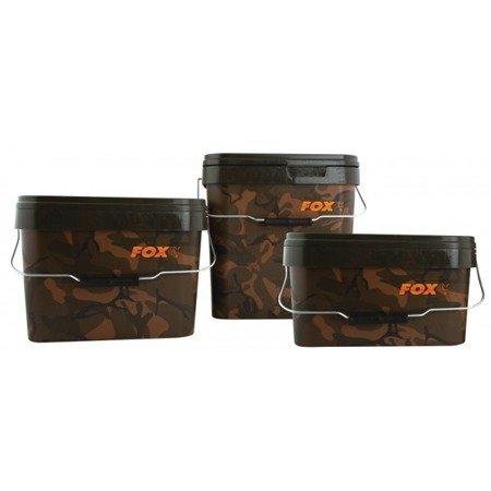 Wiadro Fox Camo Square Buckets 5l